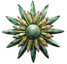 regal home decor amazon com regal art u0026 gift 10200 sunburst sun wall decor aqua