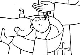 girls baptism coloring google image result