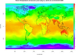 World Temperature Map October by Accessing Global Weather Model Data Using The Rnomads Package In R