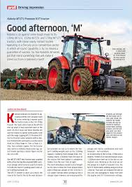 kubota m7 review profi garton tractor california kubota