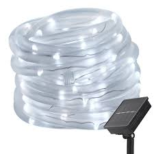 Lights For Halloween by Led Solar Lights Lte 33ft 100 Led String Lights With Light