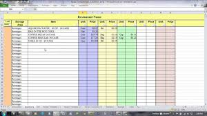 inventory forecasting excel template microsoft attendance report