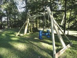 Backyard Swing Sets For Kids by 34 Free Diy Swing Set Plans For Your Kids U0027 Fun Backyard Play Area