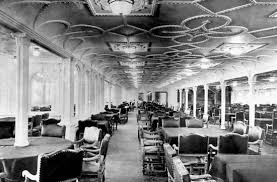 titanic first class dining room photograph the first class dining saloon on the titanic titanic