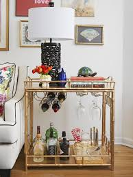 utilize what you ve got with these 20 small living room decorating side table bar cart