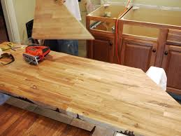 How To Install A Laminate Kitchen Countertop - furniture appealing butcher block countertops for kitchen