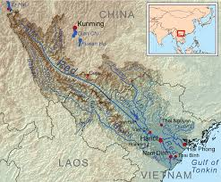 Southwest Asia Physical Map by Red River Asia Wikipedia