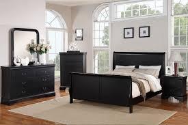furniture excellent poundex f9230ek black finish eastern king