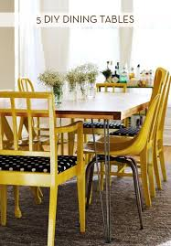 How To Make Dining Room Chairs by 5 Dining Tables You Can Build Yourself Curbly