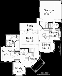 corner lot floor plans floor plan for 10029 grand entrance corner lot house plan