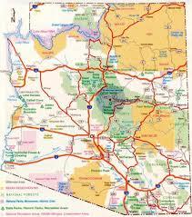 map az arizona map