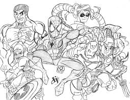 marvel u0027s avengers coloring pages coloring