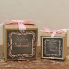 will you be my of honor gift will you be my bridesmaid gift boxes will you be my of