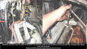 2006 ford f250 6 0 diesel 03 07 ford 6 0 egr delete kit installation