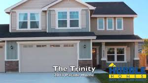 Trinity Custom Homes Floor Plans Hubble Homes 2013 Parade Home At Solitude Place The Trinity Youtube