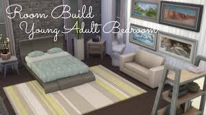 sims 4 room build young bedroom youtube