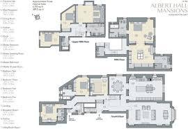 Royal Albert Hall Floor Plan 5 Bedroom Flat For Sale In Albert Hall Mansions Kensington Gore
