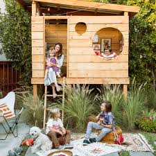 create the ultimate backyard fort sunset