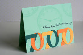 notable nest 70th birthday card where has the time gone pdcc