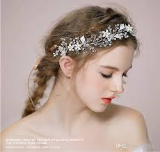 wedding hair bands 2015 new style bridal hair accessories hair band silver gold