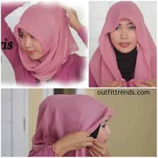 simple hijab styles tutorial segi empat 10 simple hijab paris tutorials you can do less than minute