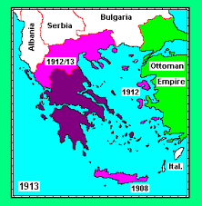Present Day Ottoman Empire Expansion Of The State After The War Of Independence Against