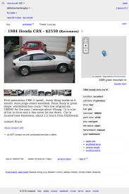 for 2 550 canadian this 1984 honda crx hf says say hello to my