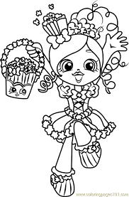 popette shopkins coloring free shopkins coloring pages