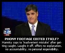 Sean Hannity Meme - hannity falsifies footage of tea bagger rally the brad blog