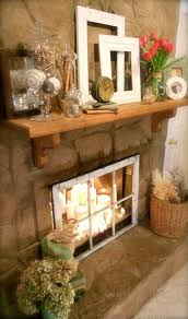 best 25 decorative fireplace ideas on candle light