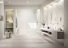 essenziale white ceramic bathroom covering marazzi