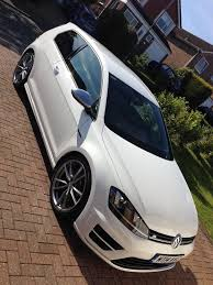 volkswagen golf r mk7 white 3 door manual 19 inch alloys leather