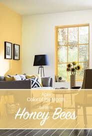 sherwin williams u0027 april color of the month honey bees sw 9018 a