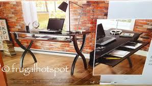 Computer Desk Costco Costco Sale Bayside Furnishings Computer Desk 79 99 Frugal Hotspot