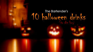 top 10 halloween drink recipes the bartender