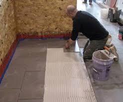 Floor Tile Installers Large Format Tile
