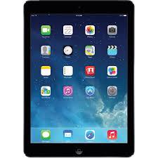 apple 128gb ipad air wi fi only space gray me898ll a b u0026h