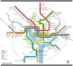 the metro map national cherry blossom festival getting around wtop