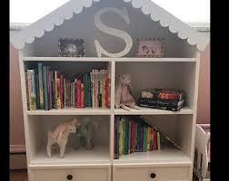 Doll House Bookcase Dollhouse Bookcase Etsy