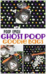 emoji ghost halloween goodie bags loves glam