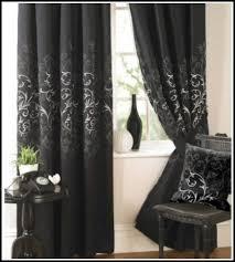 black damask curtains scalisi architects