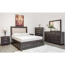mako bedroom furniture bedroom sets canadian blackcomb novel 6pc queen bedroom set at