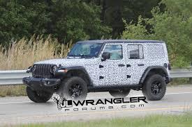 huge jeep wrangler 2018 jeep wrangler jl drops major camo revealing nearly all