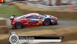 Ferrari 458 Gt - 23m ferrari breadvan crashes but keeps racing 7 5m cobra hits