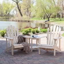 Adirondack Patio Furniture Sets - coral coast hubbard adirondack 2 chair set with free side table