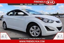 Hyundai Used Cars New Port Richey 2016 Hyundai Elantra Se New Port Richey Fl 21208984