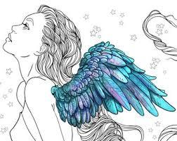snow queen coloring fantasy art