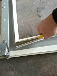 How To Cut Door Jambs For Laminate Flooring Garage Door Do It Yourself Cowtown Garage Door Blog