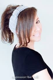 knitted headband beginner knitted headband pattern expression fiber arts inc