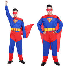 Superman Halloween Costume Buy Wholesale Male Superman Costume China Male